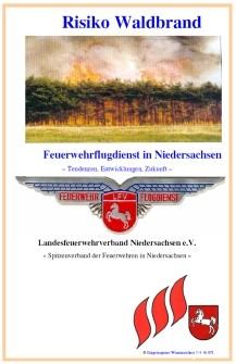 Broschüre Risiko Waldbrand
