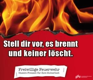 """Aktion """"Ja zur Feuerwehr"""""""