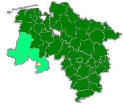 Karte Stadt Osnabrück
