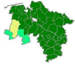 Emsland Karte.Emsland Landesfeuerwehrverband Niedersachsen