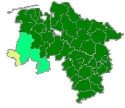 Karte Grafschaft-Bentheim