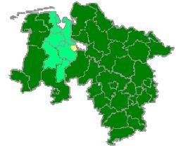 Karte Stadt Delmenhorst