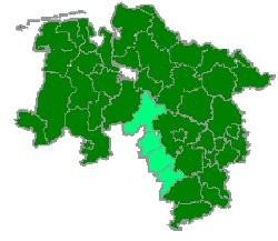 Karte Göttingen
