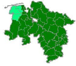 Karte Osnabrück