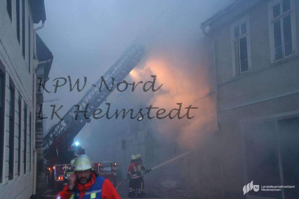 02 02 2015 Feuer Zerstort Mobelhaus In Helmstedt