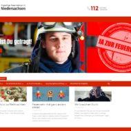 """""""www.feuerwehr.niedersachsen.de"""" Das Portal für alle Feuerwehren in Niedersachsen"""