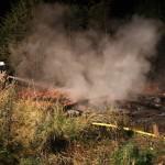 12.07.2016 – Hütte am Teich zwischen Gehrenrode und Helmscherode in der Nacht niedergebrannt