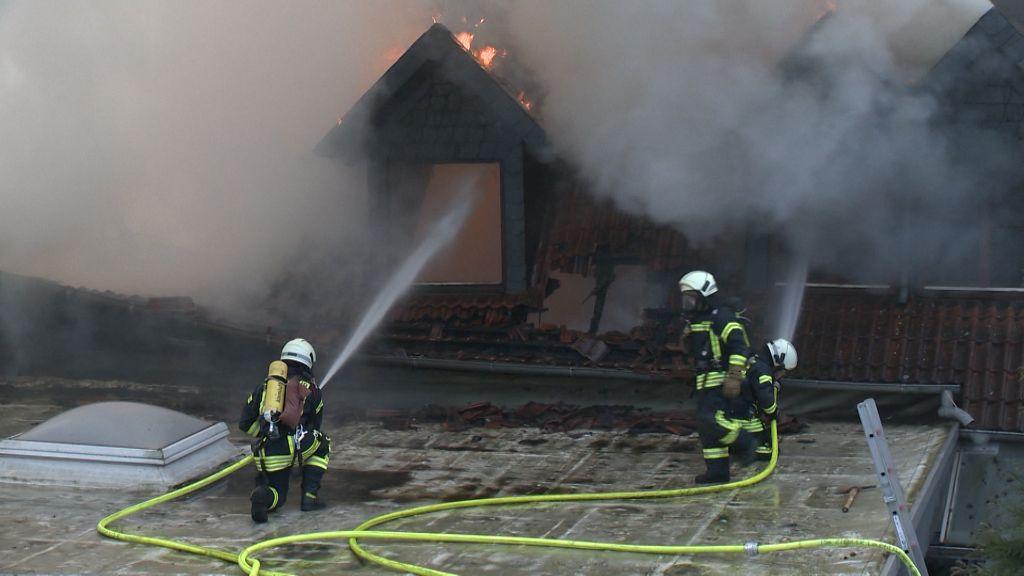Tischlerei Wolfsburg 30 01 2017 großbrand zerstört tischlerei und wohnhaus
