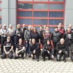 09.06.2017 – Feuerwehrmitglieder fahren auf dem Motorrad durch den Harz