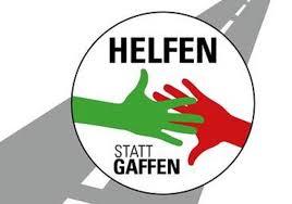 Helfen statt Gaffen - Logo