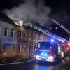 20.01.2018 – Mehrfamilienhaus in Flammen
