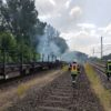 20.06.18 – Brennt Güterwaggon im Bahnhof