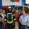 22.07.2019 – Geflüchtete Personen besuchen die Feuerwehr Dannenberg