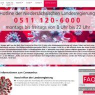 Hinweise und Informationen – Coronavirus