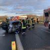 08.01.2021 – Verkehrsunfall mit eingeklemmter Person auf der Autobahn A31, Anschlussstelle Riepe