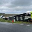 Gefahrgutunfall in der Gemeinde Dornum – 20.000 Liter Gas mit LKW verunfallt